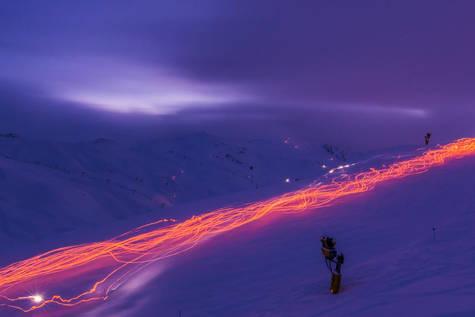 Los Reyes Magos volverán a bajar esquiando con antorchas en Astún